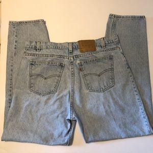 Vintage Men's Levi's 550 Jeans Relaxed Fit